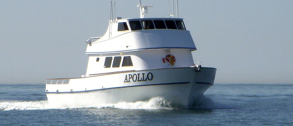 The Apollo operates out of San Diego, CA and Puerto Vallarta, MX