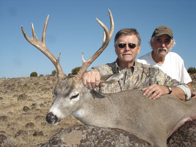 John and Richard with a nice buck